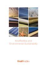 KnollTextiles Environmental Sustainability - 1