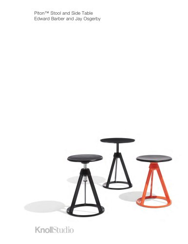 Piton™ Stool and Side Table Edward Barber and Jay Osgerby