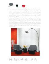 Prism™ Lounge Chair, Ottoman and Side Table David Adjaye - 2