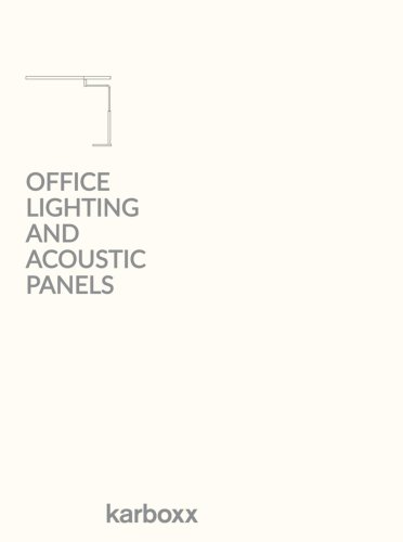 Office Lighting, Acoustic Panels