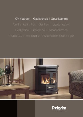 Central heating fires / Gas fires / Façade heaters