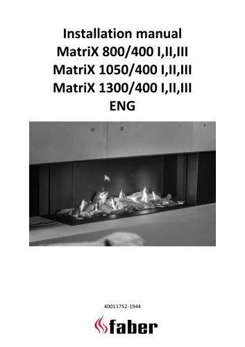 Installation manual MatriX