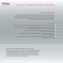 Haier UK White Goods Brochure 2011/2012 - 4