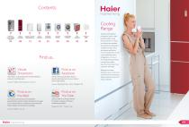 Haier UK White Goods Brochure 2013/2014 - 3