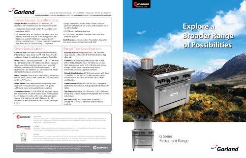 "Garland Range Broiler Burner 22 1//2/"" OEM Part"