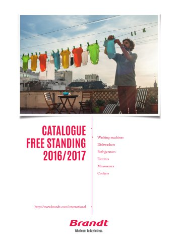 Catalogue Free Standing 2016/2017