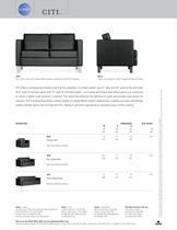CITI reception seating - 2