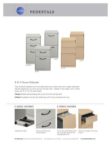 Filling & Storage Pedestals