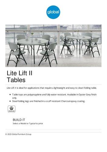 Lite Lift II Tables
