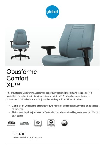 Obusforme Comfort XL™