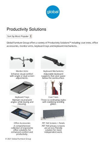 Productivity Solutions