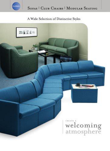 Sofas, Club Chairs, Modular Seating