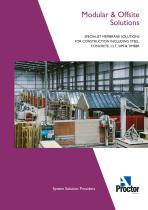 Proctors Modular and Offsite Solutions Brochure