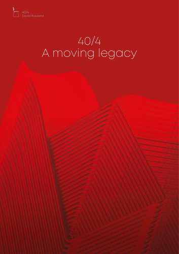 40/4 A moving legacy