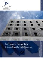 Complete Protection Waterproofing of Concrete Structures - 1