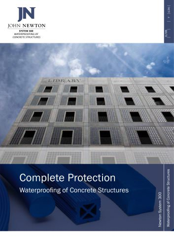 Complete Protection Waterproofing of Concrete Structures
