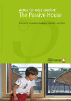 Active for more comfort: The Passive House
