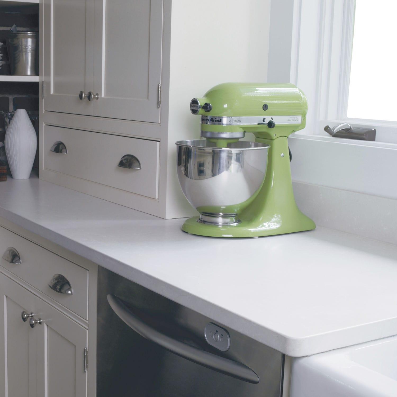 Tampo De Bancada Em Silestone Yukon Cosentino Para Cozinha Branco Cinza