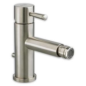 misturador monocomando para bidê / em aço inoxidável / 1 furo