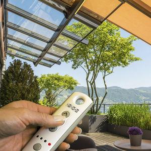 controle remoto via rádio para sistema de automação residencial