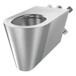 vaso sanitário suspenso / em aço inoxidável