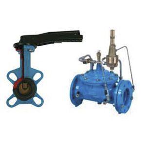 válvula de controle de água e esgoto