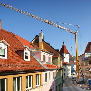 guindaste hidráulico / móvel / para construção civil / de elevação