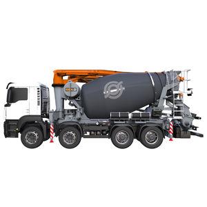 caminhão com bomba misturador a diesel