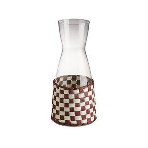 garrafa em vidro / em papel japonês