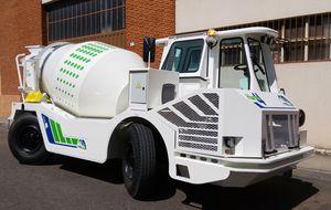 caminhão misturador a diesel
