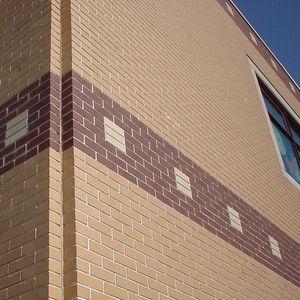 tijolo aparente em concreto