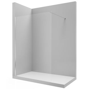 box para banheiro fixo / em vidro