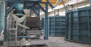 central de concreto móvel