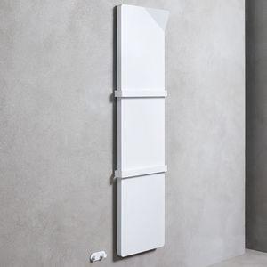 aquecedor de toalhas a água quente / elétrico / em aço / contemporâneo