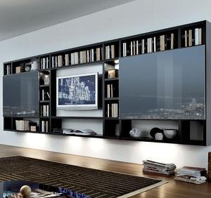 móvel de parede contemporâneo para TV