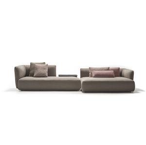 sofá modular / de canto / compacto / contemporâneo
