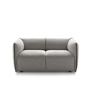 sofá compacto / contemporâneo / em tecido / contract