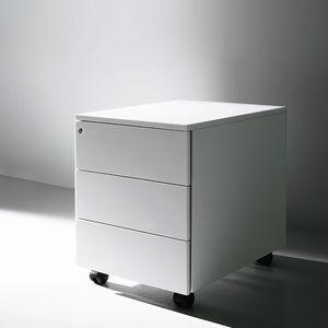 módulo de gavetas para escritório metálico