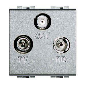 tomada para antena de TV / SAT / RD / multi