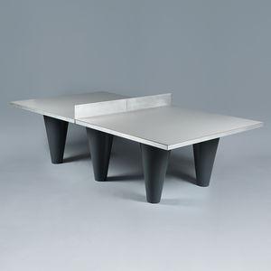 mesa de pingue-pongue contemporânea / para uso externo / para parque infantil