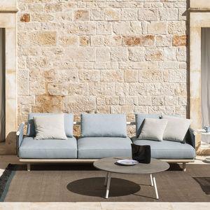 sofá de jardim / modular / contemporâneo / para pátio