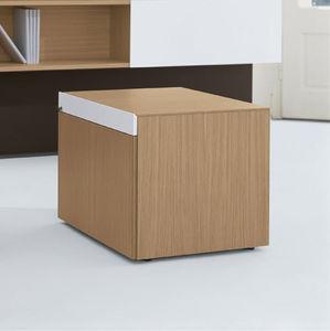 módulo de gavetas para escritório em alumínio