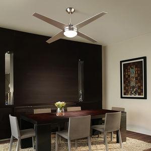ventilador de teto / residencial / em alumínio / em vidro