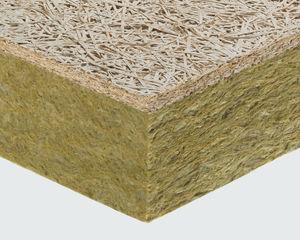 isolante térmico / termoacústico / em lã de rocha / em lã mineral