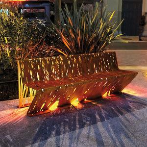 banco para espaço público