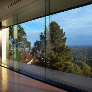 painel de vidro com vidro duplo