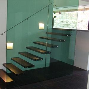 painel de vidro temperado