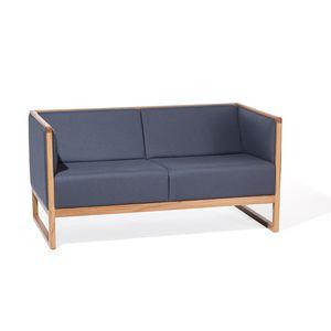 sofá contemporâneo / em tecido / em couro / em faia