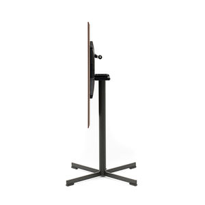 pé de mesa em aço revestido a pó / contemporâneo / para mesa alta