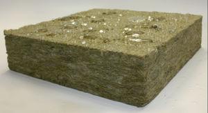 isolante acústico / em lã mineral / para ambiente interno / em painéis rígidos